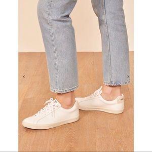 Veja Esplar Leather Sneaker in Extra White